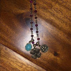 Lucky brand shamrock necklace